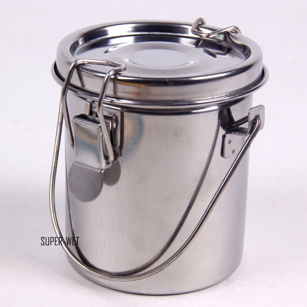 Stainless Steel Coatings : Stainless steel paint washer brush cleaner seal bottle