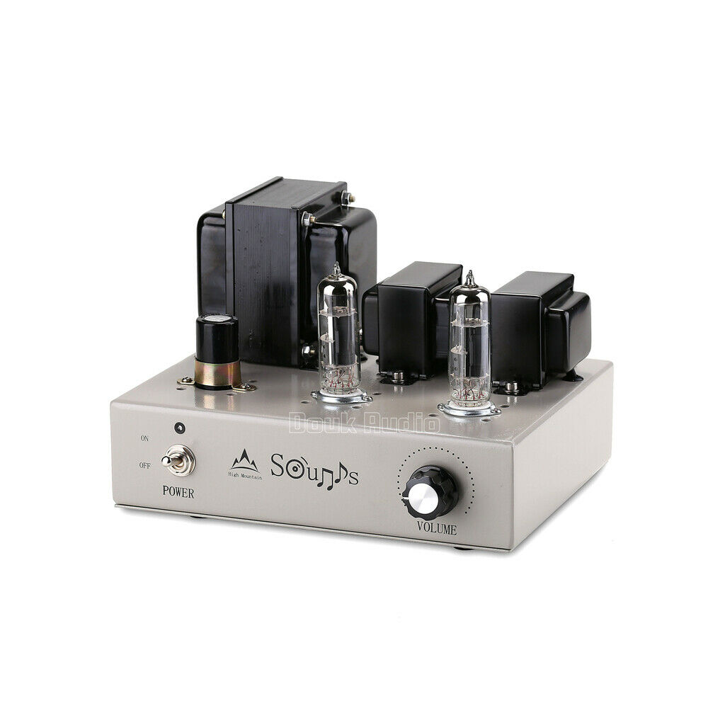 Douk Audio Mini 6F3Vacuum Tube Amplifier Stereo HiFi Class ...