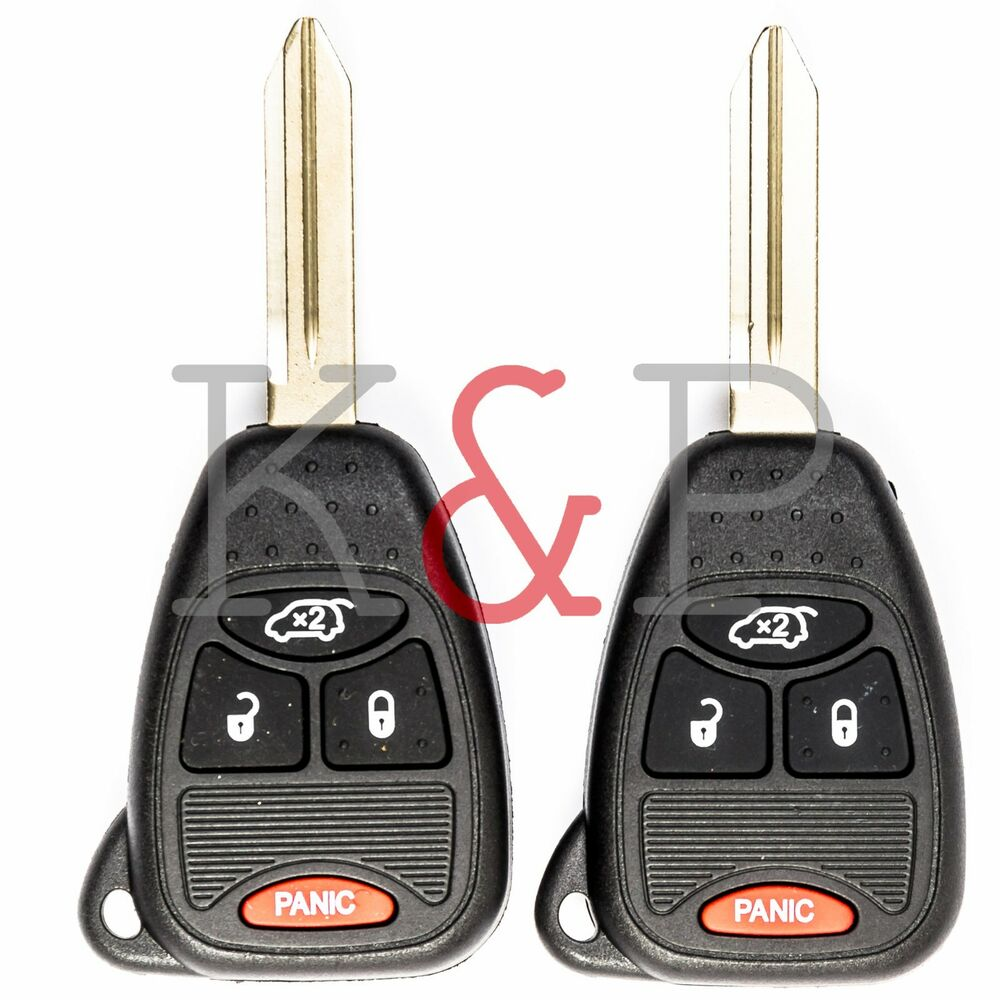 New JEEP LIBERTY CHRYSLER PACIFICA Key Fob Remote 4 Button