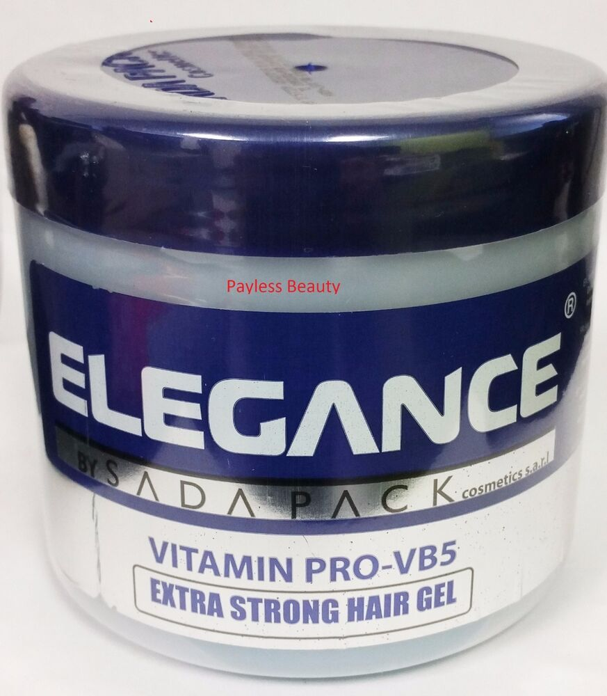 hair styling gel elegance strong protection hair gel 17 6oz 500ml 4850