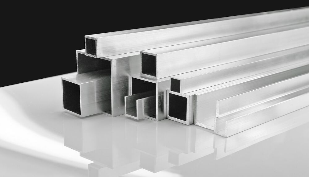 Aluminium Extrusion Angle Square Tubes U Channel Round