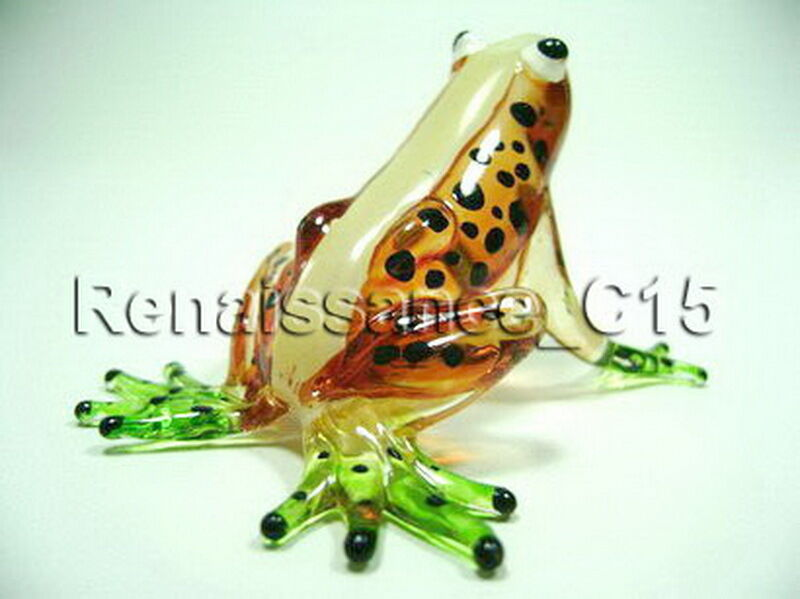 Blown Glass Frog
