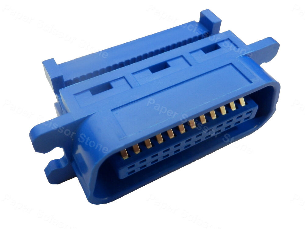 24 Pin Male Centronic Idc Connector For Rainbow Ribbon