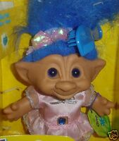 Ace Troll Doll ONO  New in Box  HARD TO FIND 5""