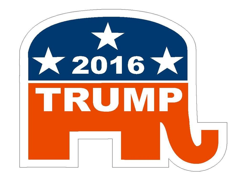 Republican Bumper Stickers Trump Bumper Sticker o...