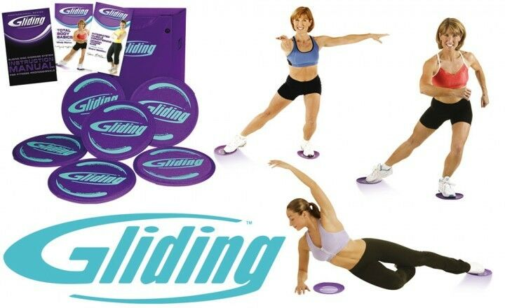 Original Gliding Disc Core Sliders Home Exercise Workout