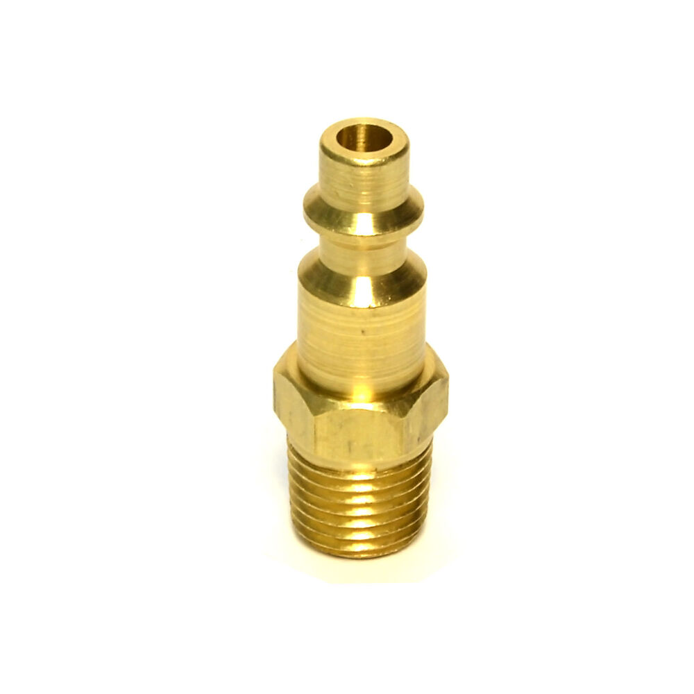 Quot npt pneumatic air compressor brass male quick connect