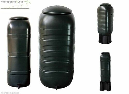 slimline reservoir tank compact hydroponics grow water butt storage 100l 250l ebay. Black Bedroom Furniture Sets. Home Design Ideas