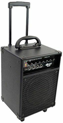 pyle pwma230 battery powered pa system with wireless mic 68888875523 ebay. Black Bedroom Furniture Sets. Home Design Ideas
