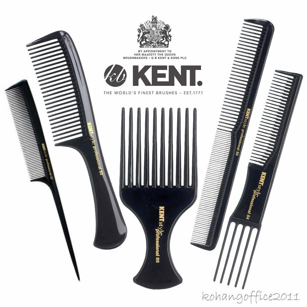 Kent Combs Antistatic Unbreakable Professional Salon Hair