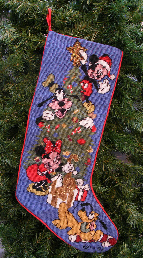 Christmas Stocking Needlepoint