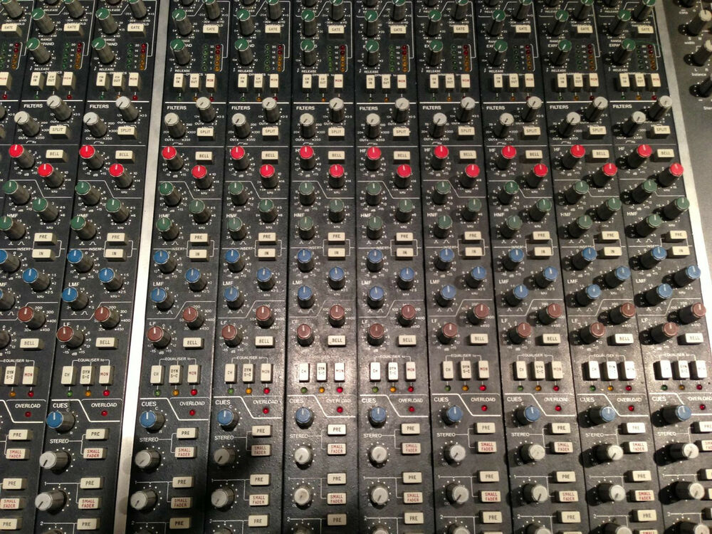 Ssl 611e Brown Knob Recording Console Strips Ebay