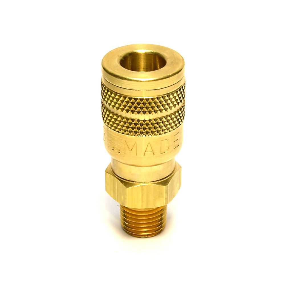 Foster solid brass quick coupler air hose connector