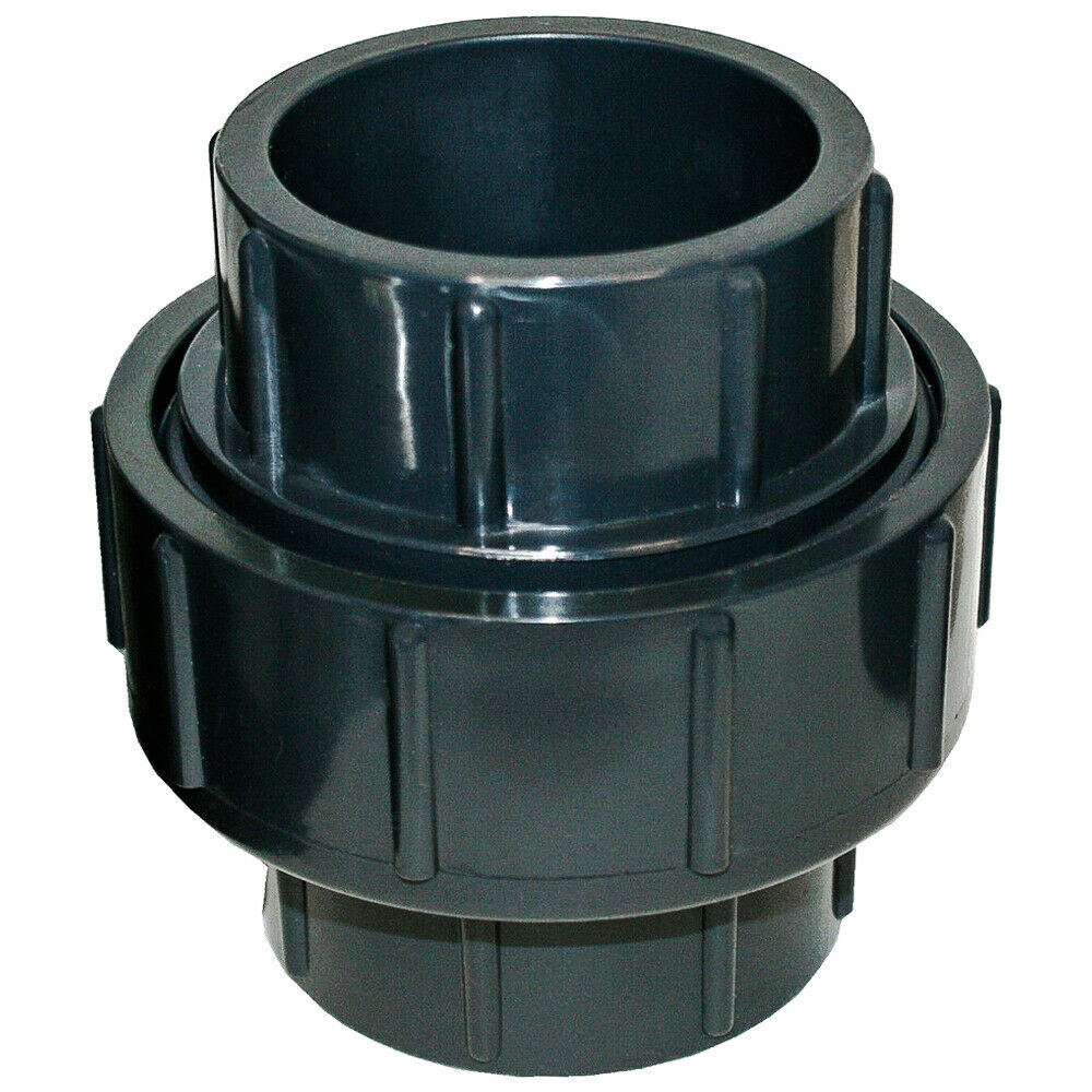 New sch pvc inch union socket connect