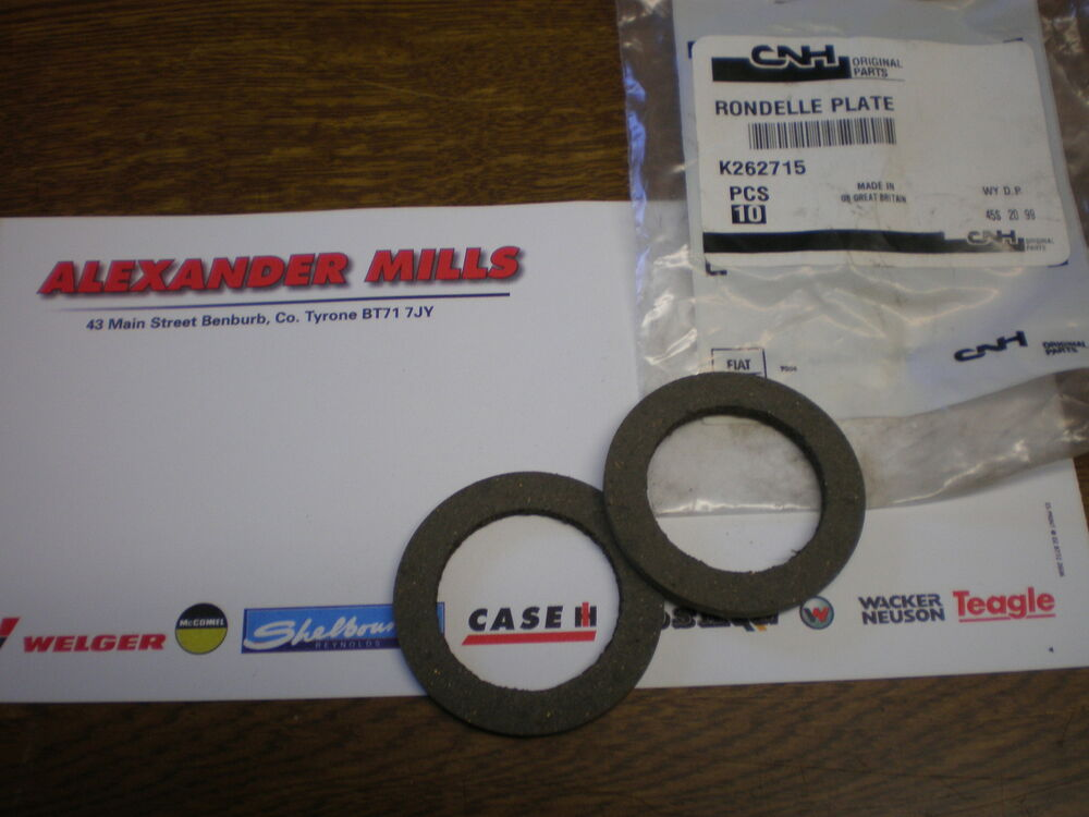 Case 586g Fork Lift Control Levers : David brown tractor genuine friction washer hyd control