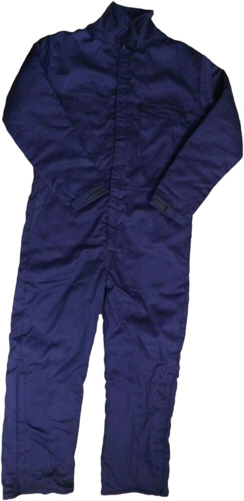 Steel Grip Flame Resistant Insulated Coveralls Indura Navy