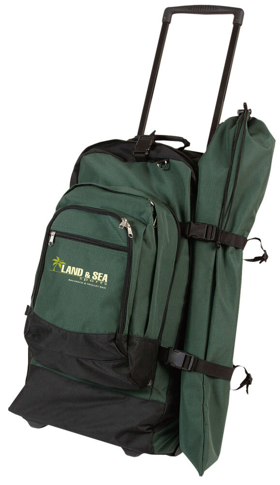 Land and sea travel bag backpack and trolley gear bag brand new ebay for Travel gear brand