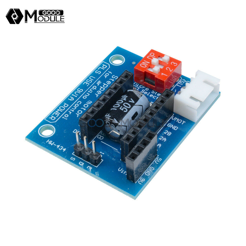 A4988 Drv8825 3d Printer Stepper Motor Driver Control
