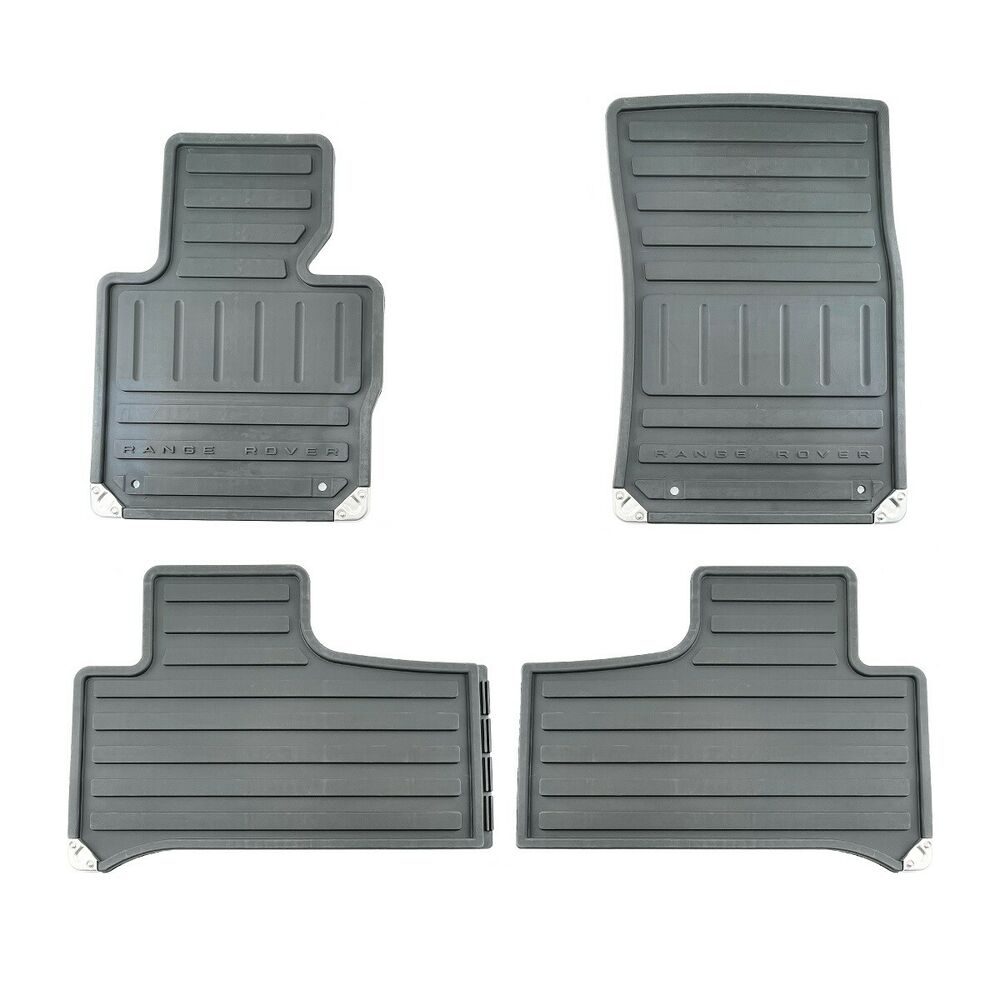 2011-2012 Range Rover All Weather Heavy Duty Rubber Floor
