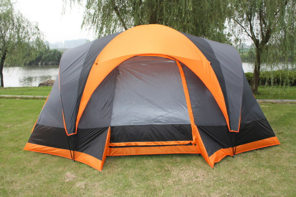 Elite Waterproof Double Layer Outdoor 8 Person Instant
