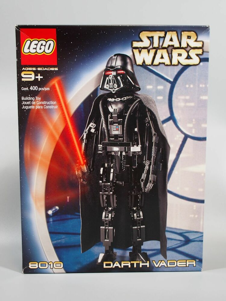 LEGO 8010 Star Wars Darth Vader NEW & SEALED 673419010368 ...