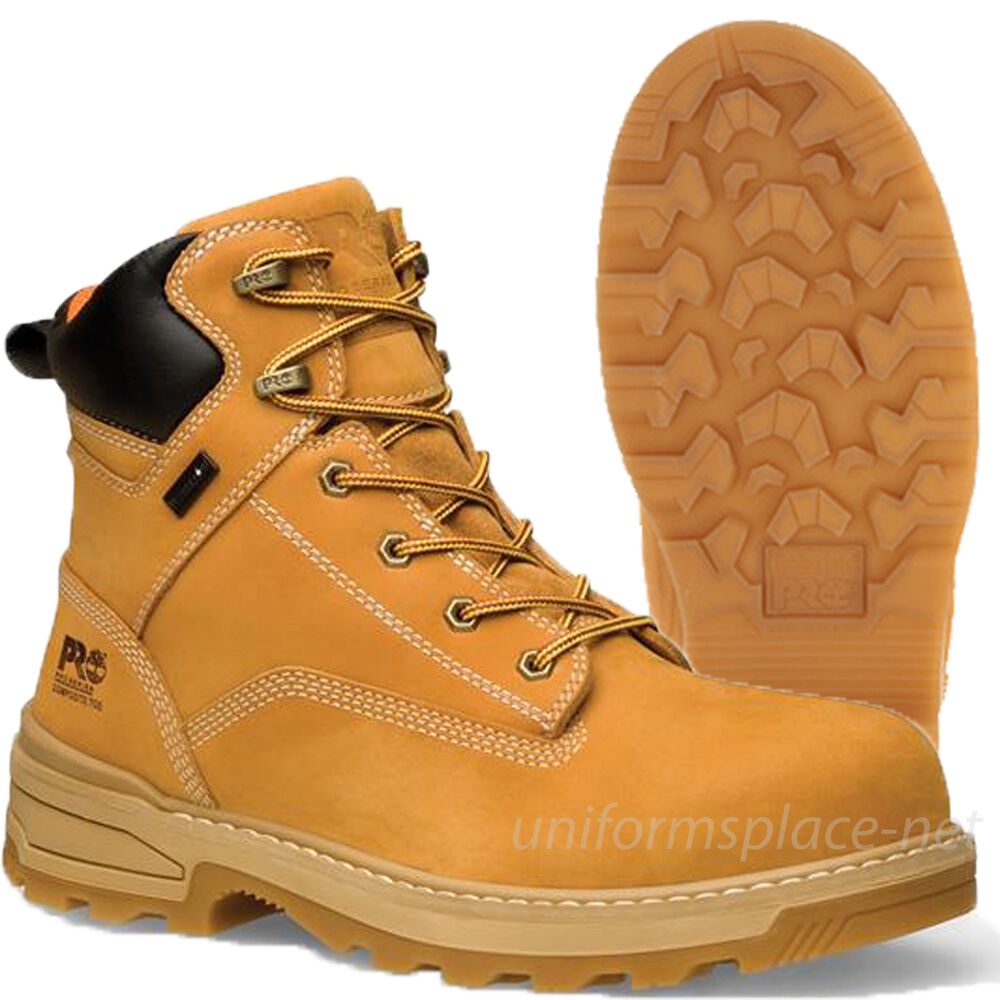 Timberland Pro Boots Mens 6 Quot Resistor Composite Safety Toe