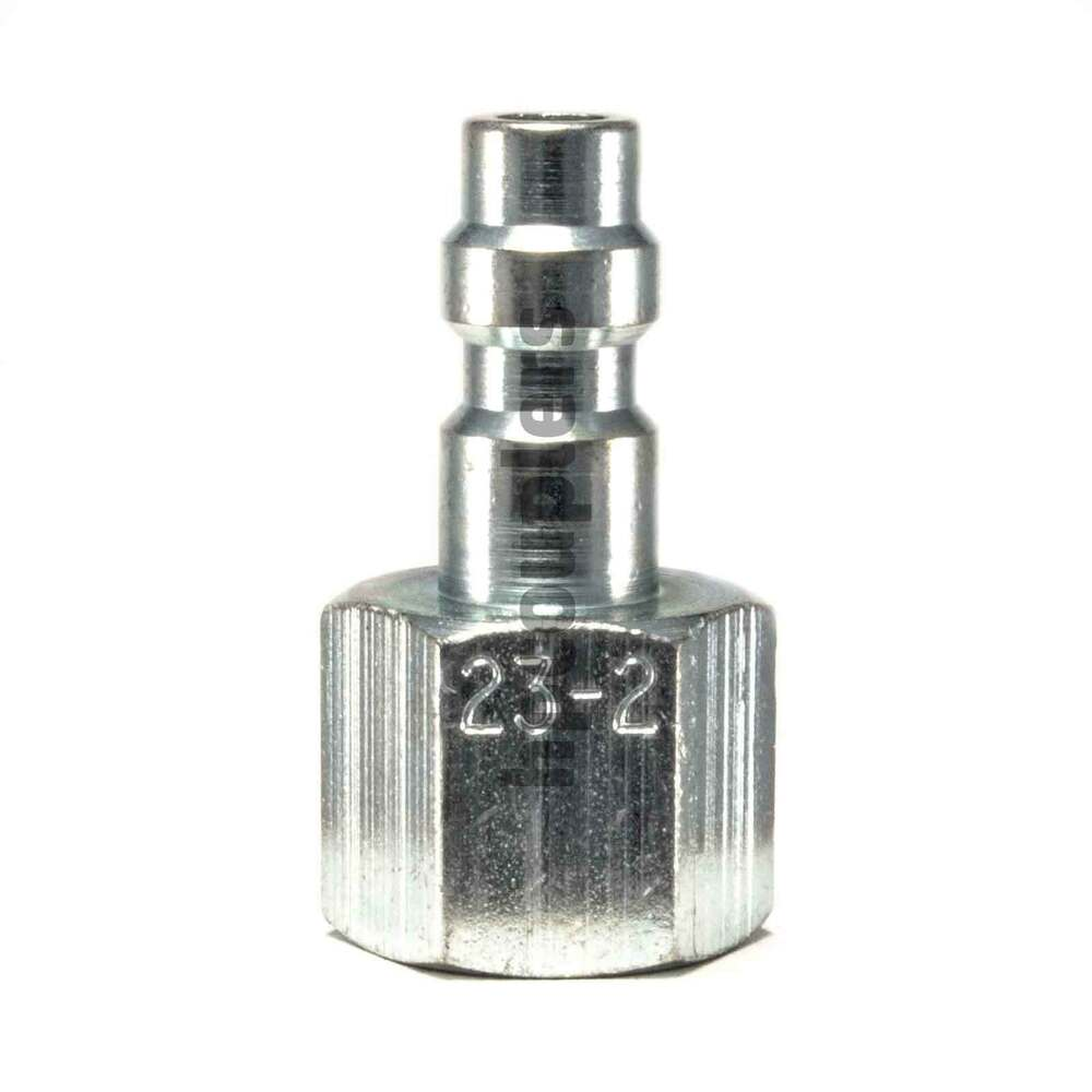 "FOSTER 23-2 1/8"" FEMALE NPT X 1/8"" INDUSTRIAL PLUG STEEL ..."