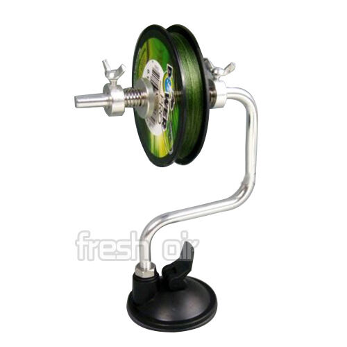 Fishing line reel spooler winder spool system tackle tool for Fishing line winder