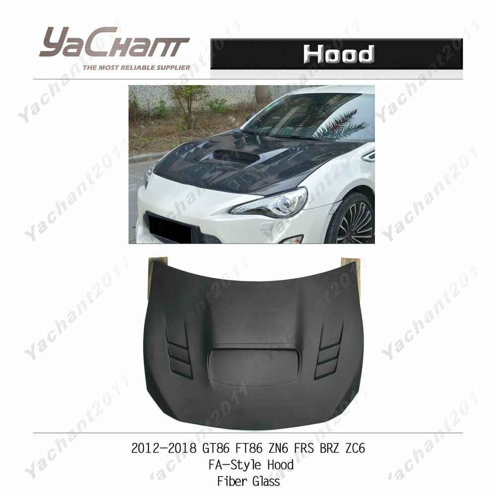 Toyota Ft 86 >> FRP Fiber Glass Bonnet For Toyota GT86 FT86 ZN6 FRS BRZ ...
