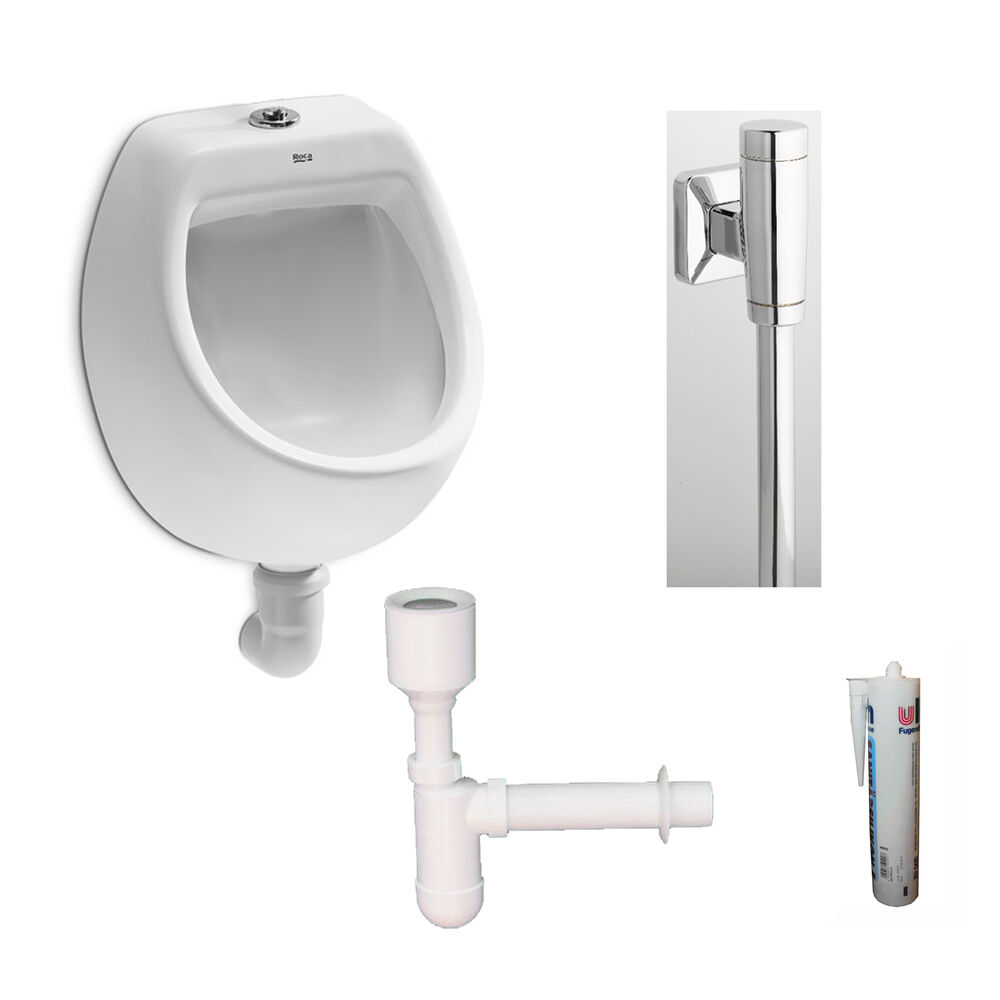 urinal set mini roca pissoir zulauf von oben 7353145 ebay. Black Bedroom Furniture Sets. Home Design Ideas