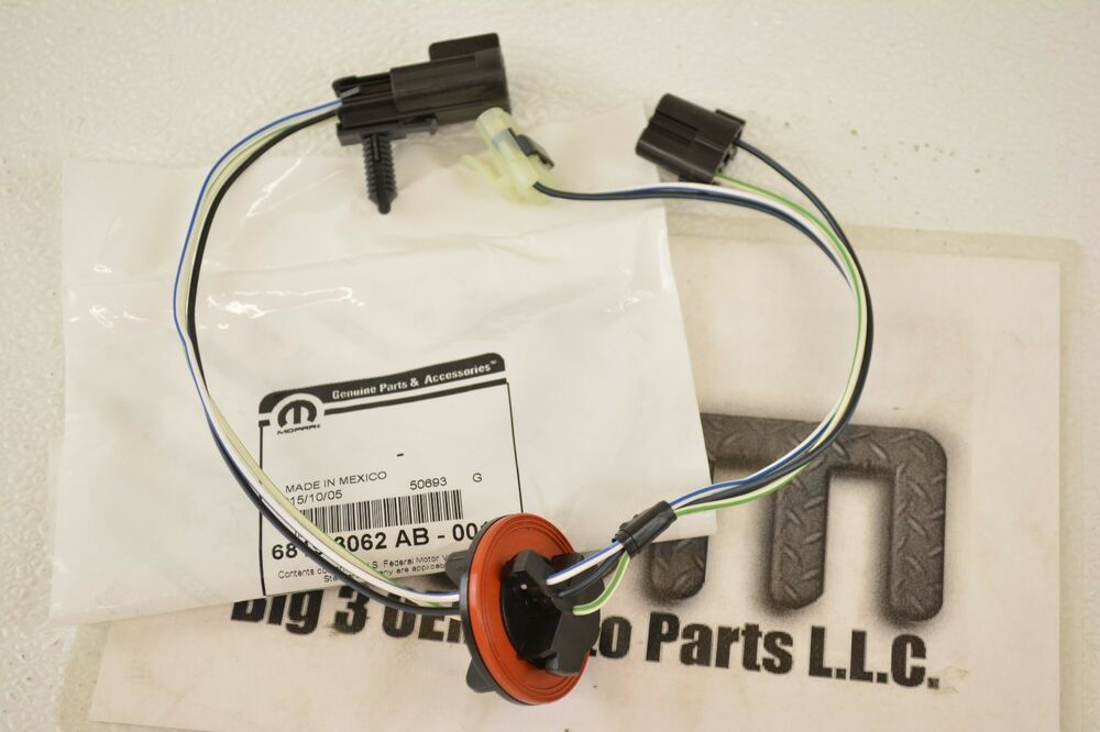 dodge ram 1500 2500 3500 4500 5500 headlamp wiring harness