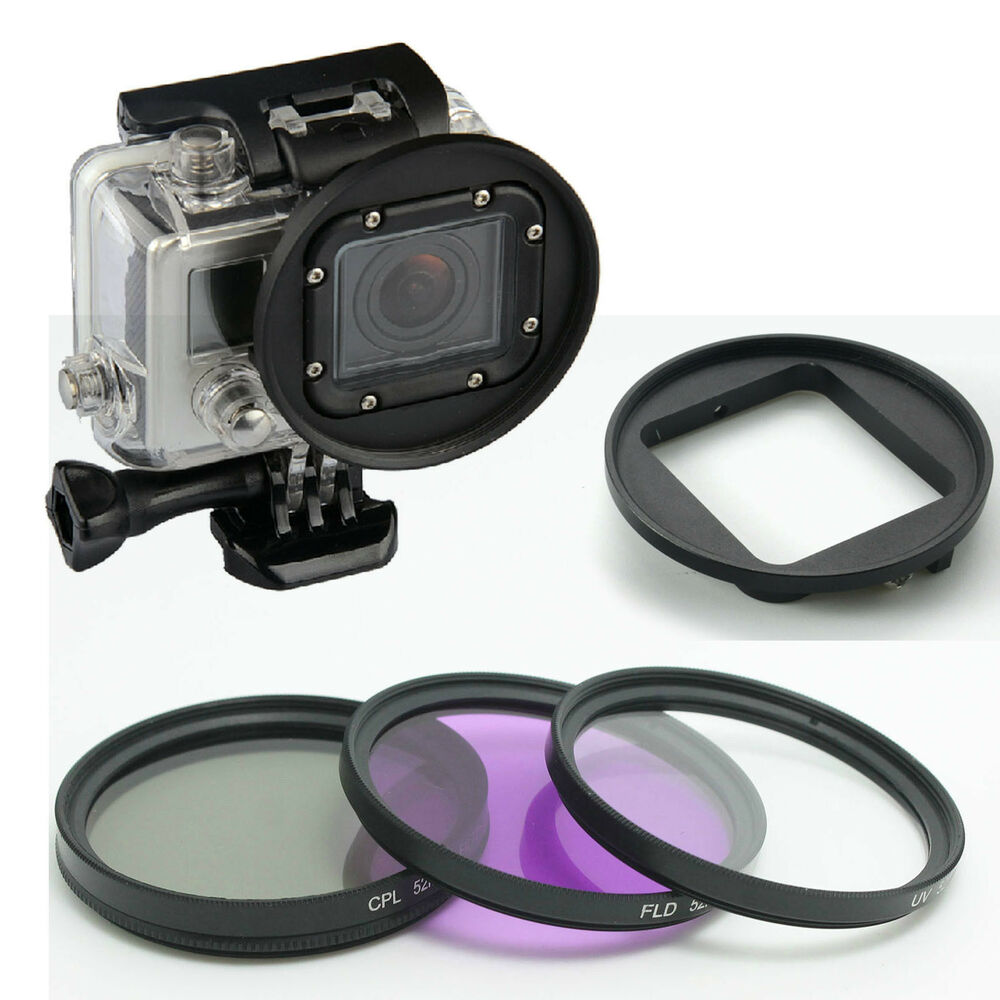 58mm filter kit and lens filter cpl uv fld adapter ring. Black Bedroom Furniture Sets. Home Design Ideas