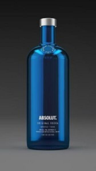 Vodka Absolut Electrik Blue  70 cl 40% vol.