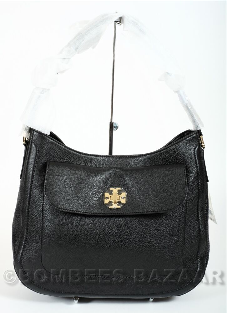 ️nwt Auth Tory Burch Mercer Slouchy Leather Hobo Shoulder