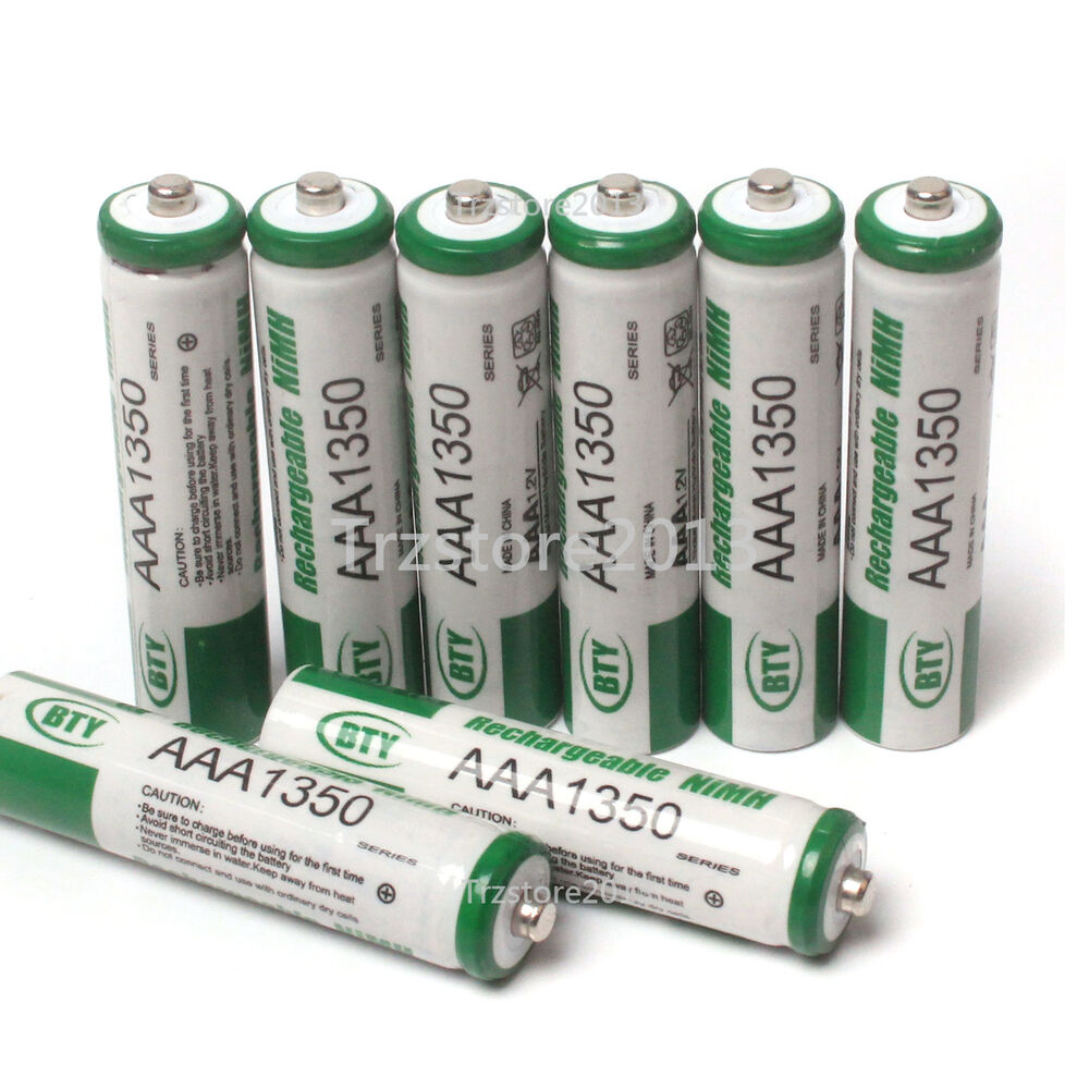 hot 4 pcs aaa size 1350mah 1 2v nimh ni mh rechargeable battery for cell rc ebay. Black Bedroom Furniture Sets. Home Design Ideas