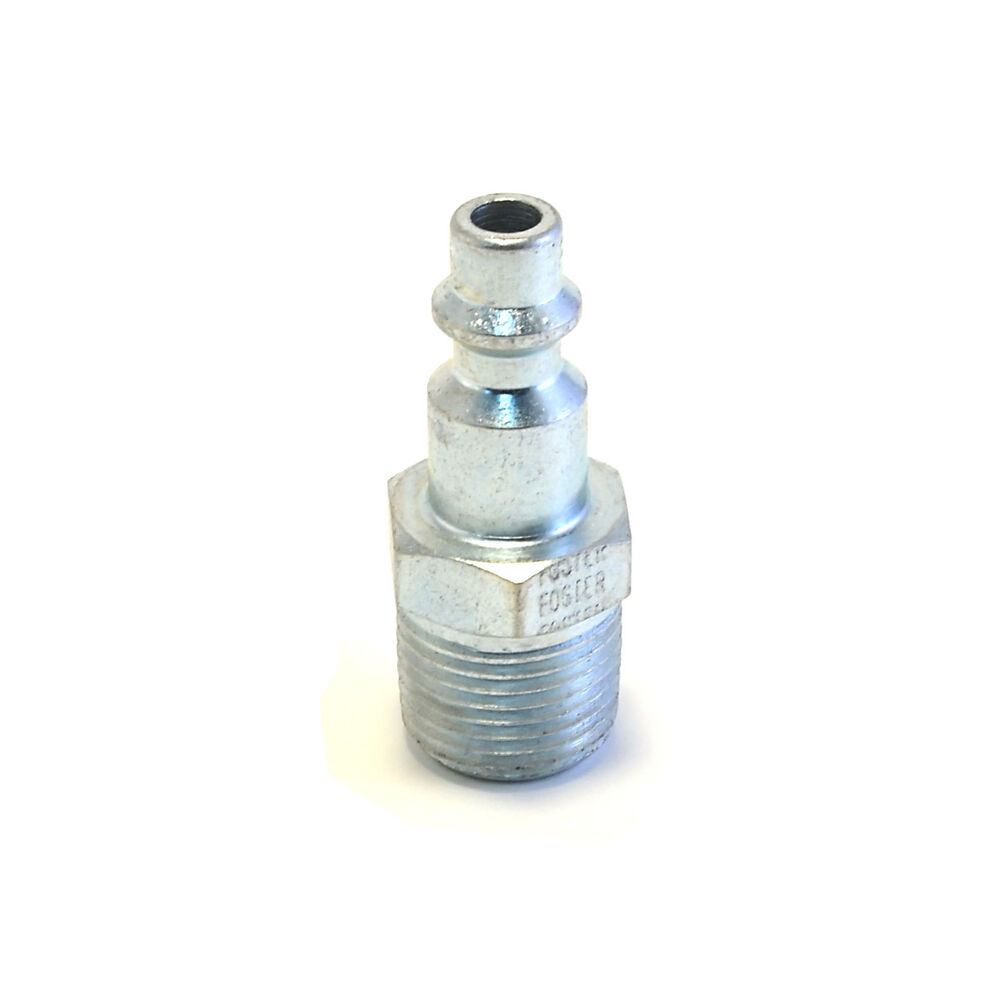 Foster quot male npt industrial plug air hose
