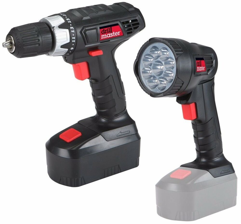 18 Volt Cordless 3 8 Inch Drill Driver Keyless Chuck And