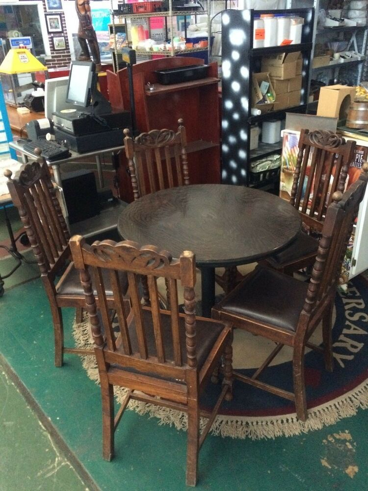 100 year old wooden chairs with table ebay for 100 year old oak table