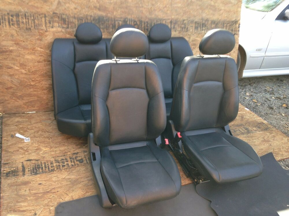 mercedes benz w203 front and rear both sides leather seat