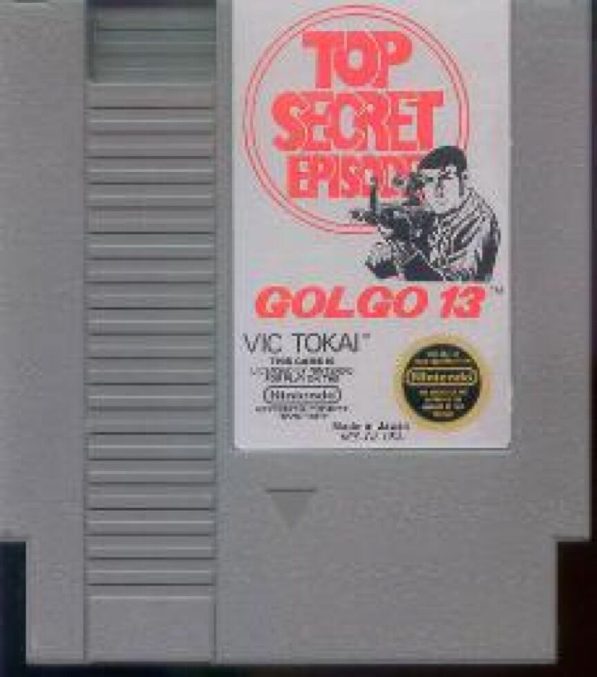 GOLGO 13 TOP SECRET EPISODE ORIGINAL CLASSIC NINTENDO GAME