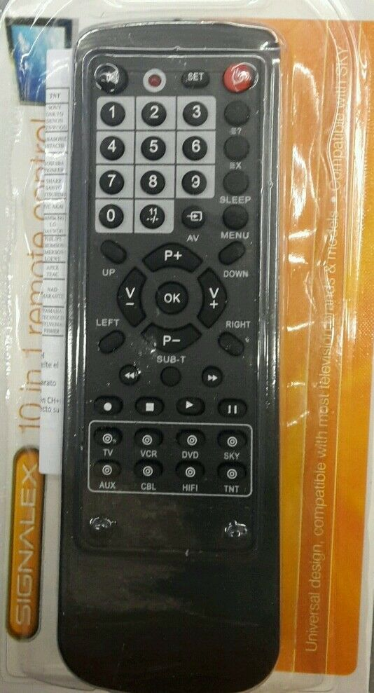all in 1 universal replacement tv remote control dvd vcr lg sony samsung sky av ebay. Black Bedroom Furniture Sets. Home Design Ideas