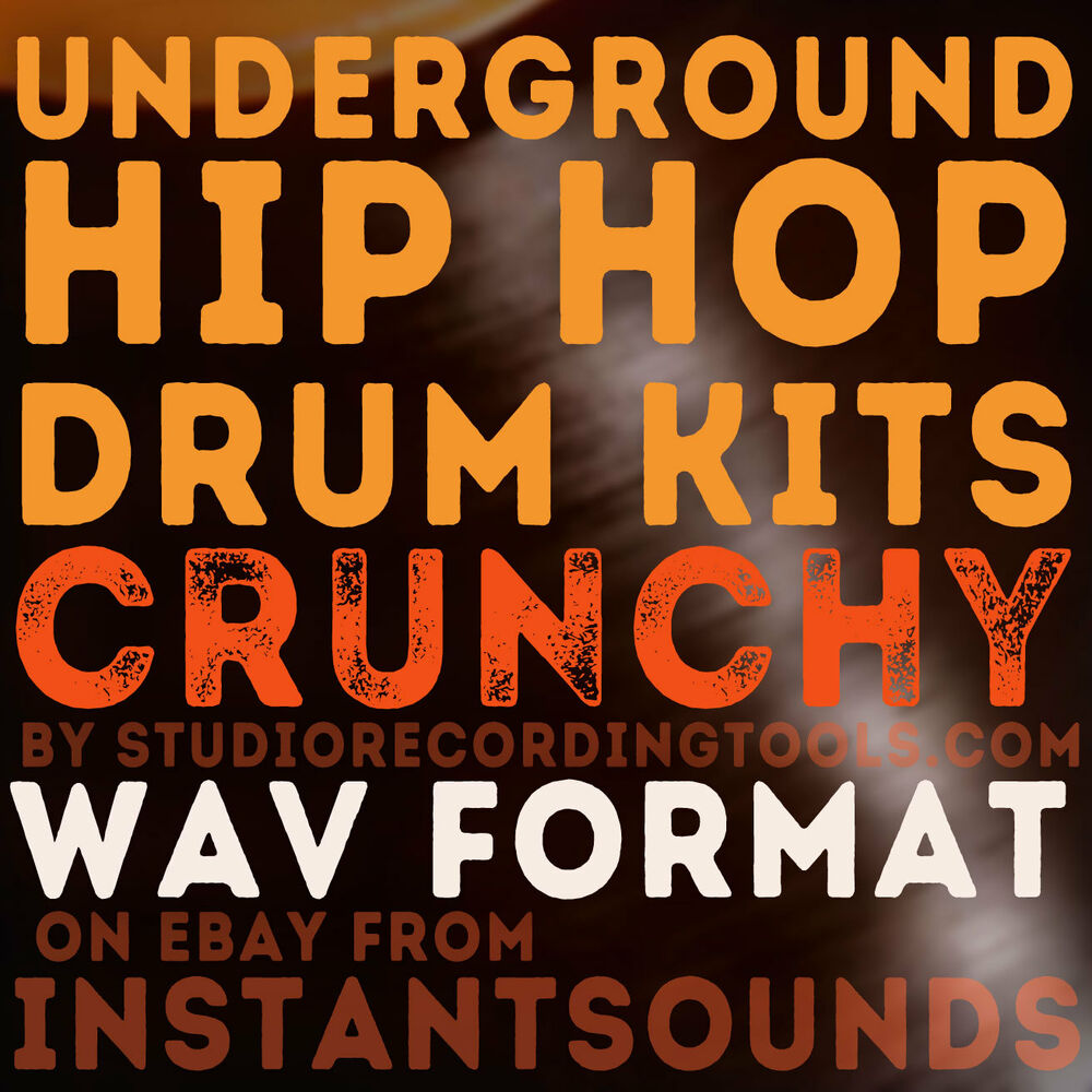 underground hip hop drum kits hits sampled from vintage vinyl sounds samples wav ebay. Black Bedroom Furniture Sets. Home Design Ideas