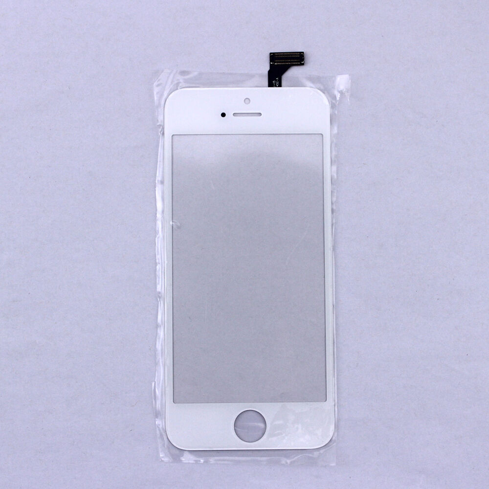 iphone 5 glass replacement new for iphone 5 5g touch screen digitizer glass white 14521