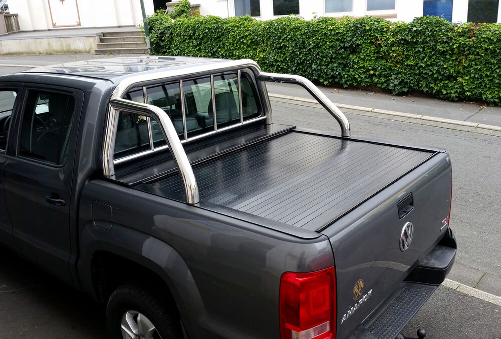 volkswagen amarok pickup laderaumabdeckung rollcover. Black Bedroom Furniture Sets. Home Design Ideas