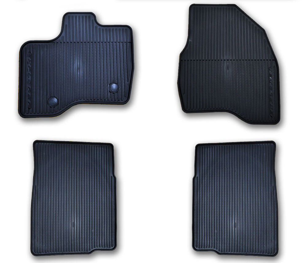 OEM NEW 2015-2017 Ford Explorer All-Weather Vinyl Floor ...