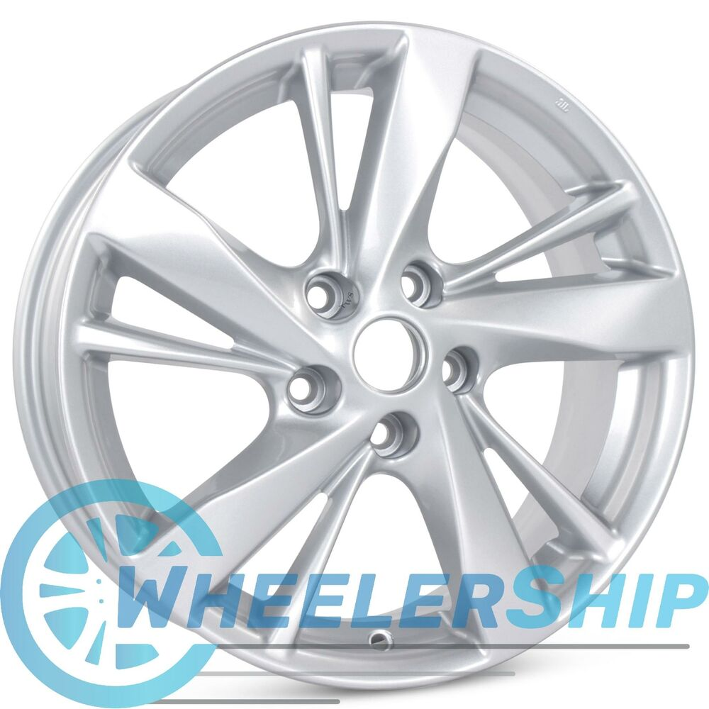 new 17 alloy replacement wheel for nissan altima 2013 2014 2015 rim 62593 ebay. Black Bedroom Furniture Sets. Home Design Ideas