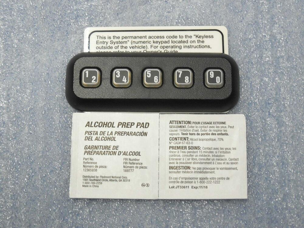 Image Result For Ford F Keypad Programming