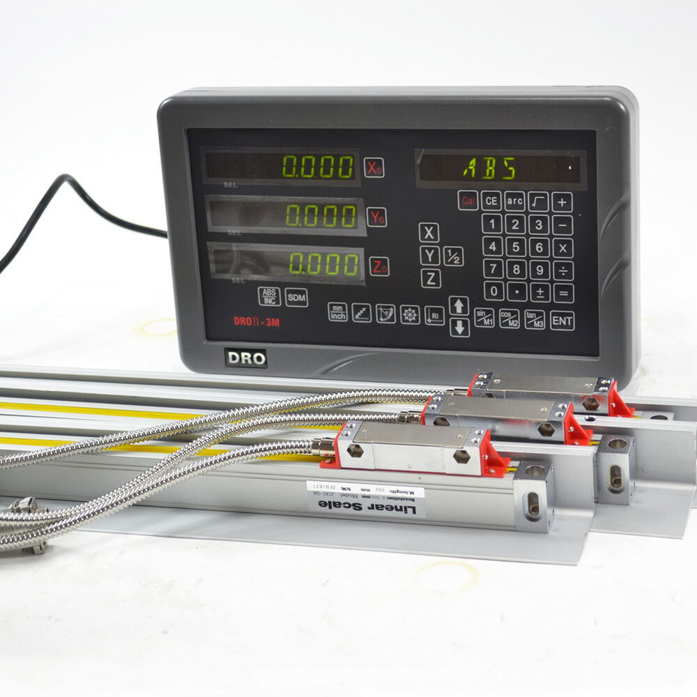 digital readout for milling machine