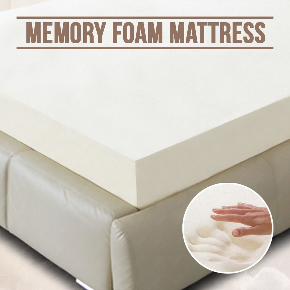 5 5 comfort select 4 twin full size king memory foam mattress topper ebay Memory foam king mattress