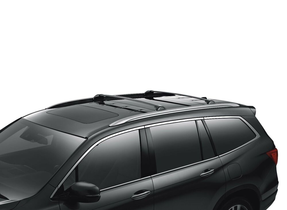 2016 - 2018 HONDA PILOT ROOF RACK CROSS BARS OEM | eBay